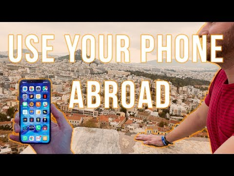 How To Use Your Phone Abroad || Travel Tip