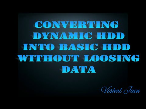 How to Convert Dynamic (Invalid) Disks into Basic Disk without Loss of Data