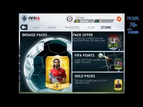 INSANE PACKS!!!! FIFA14 PACK OPENING ON IOS