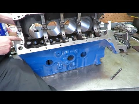 76 F100 Truck Ep7 431 FE STROKER ENGINE BUILD