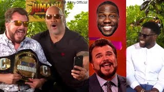 Jumanji 2 Bloopers and Cast Funny Moments(Part-2) - Dwayne Johnson & Kevin Hart😂😂