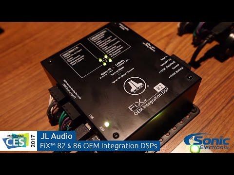 JL Audio FiX OEM Integration DSPs & TüN DSP Control Software   CES 2017