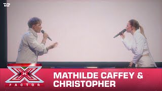 Mathilde Caffey & Christopher synger 'Leap Of Faith / Ghost' - (Live) | X Factor 2020 | TV 2