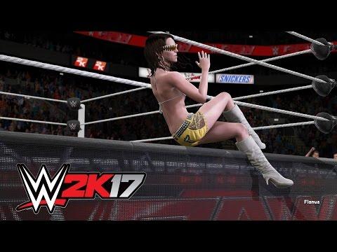 WWE 2K17 PC Divas (My Custom Attires) Part 3