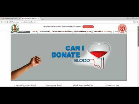 How to Check Govt Blood And Pvt Blood Banks Available Online in Tamilnadu