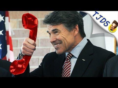 Rick Perry Calls! He's Full Of Fertilizer (TJDS)