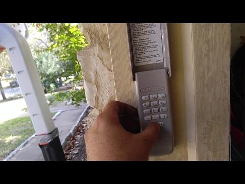 ✅ Chamberlain Garage Door Opener MyQ Keypad Programming