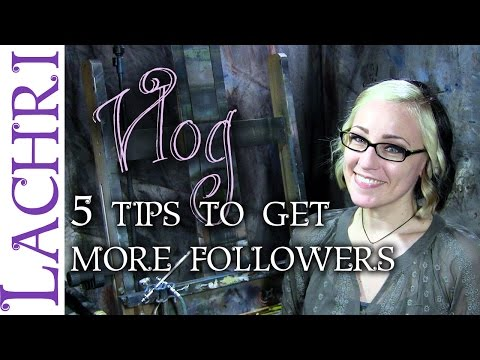 5 ways to get more followers for your art on social media - w/ Lachri