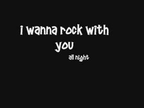 Michael Jackson - Rock With You - Lyrics