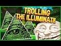 Trolling The Illuminati Minecraft Trolling 90 Minecraft Pran