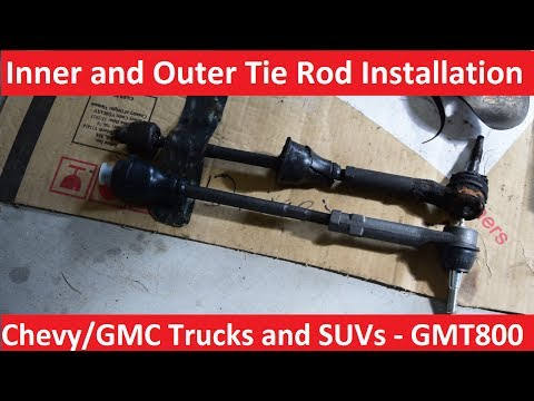 Inner and outer tie rod replacement  - Chevy/GMC Trucks and SUVs - GMT800