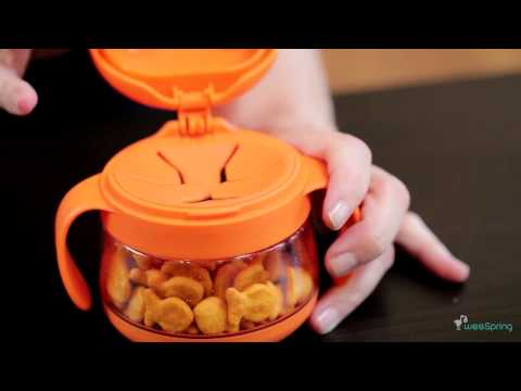 Ubbi Tweat Snack Container | Video Review From weeSpring