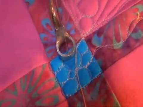 Long Arm Quilting Demo: Organic Peas in a Pod