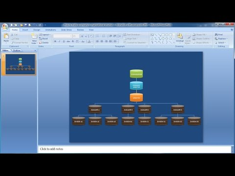 How to make organizational chart with animations|Learn powerpoint easily