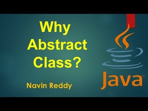 #6.9 Java Tutorial | Why do we need Abstract Class?