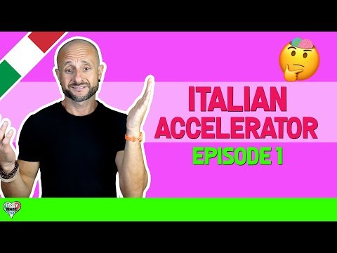 Italian Accelerator (EPISODE 1): Learn and Improve Advanced Italian Through Real Conversation [IT]
