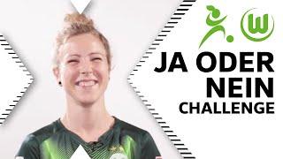 Ja-oder-Nein-Challenge mit Svenja Huth   VfL Wolfsburg Frauen