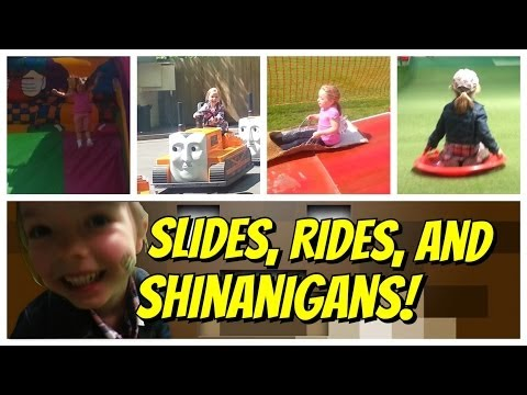 Slides, Rides and Shinanigans! (8-Bit Benny Hill)
