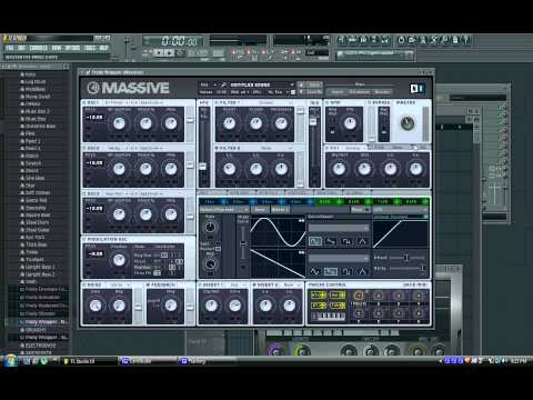 How to Make Skrillex Dubstep Scream and variations using Massive