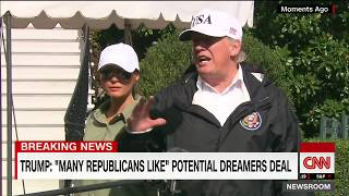 Trump: There will be a border wall, no amnesty deal