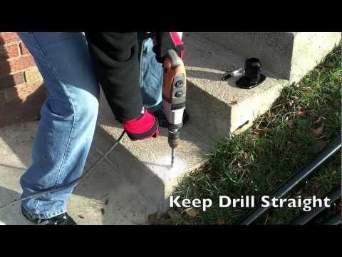 Simple Rail - Surface L160 - Handrail Installation