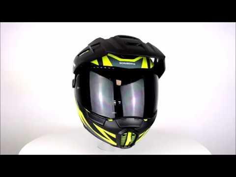 SCHUBERTH E1 Rival Yellow Motorcycle Helmet