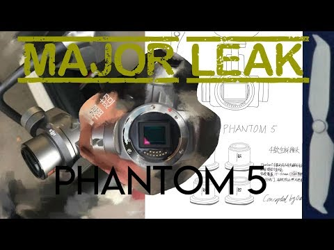 Phantom 5 MAJOR Leak - Camera system and low-noise props