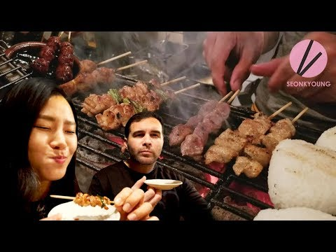 REAL AUTHENTIC LOCAL Yakitori, Japanese Grilled Chicken!!