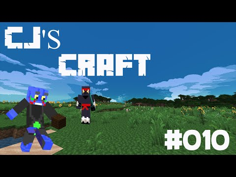 Minecraft survival in cjs craft ep10 (potion room)