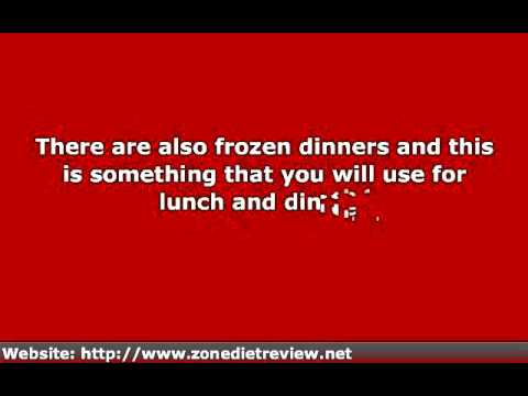 The Zone Diet Menu Is Easy To Follow