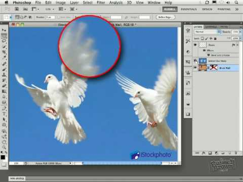Photoshop CS5: Advanced Motion Blur Masking and Blending