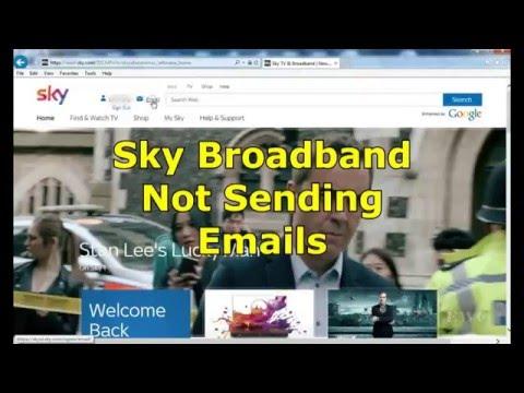 Sky Broadband Email problems