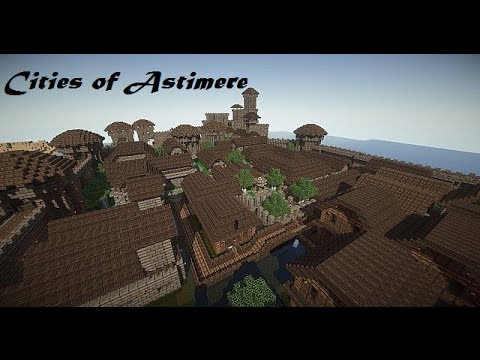 Minecraft Cinematic - Cities of Astimere