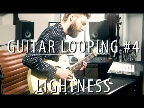 Live Guitar Looping (#4) | Lightness | Major