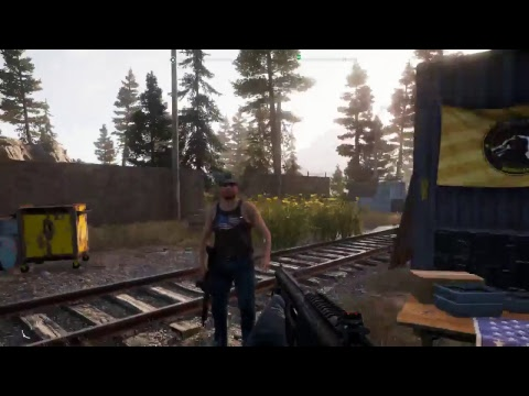 Far Cry 5 live stream p5 (try to save the deputy while sober)