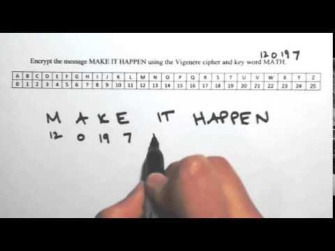 Vigenere Cipher 1
