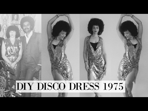 🇨🇻 DIY 75 Disco Dress 🇨🇻 Cabo Verde Inspired 🇨🇻 Culture Couture