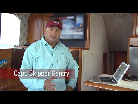 Using TracVision and TracPhone onboard Skipper Gentry's Carolina Gentleman