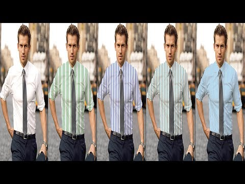 How to Change Fabric into Clothing in Photoshop ( in Tamil )
