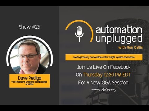 Automation Unplugged: Show#25 - Live Interview with Dave Pedigo