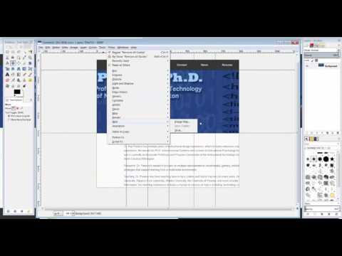 GIMP: How to slice in GIMP
