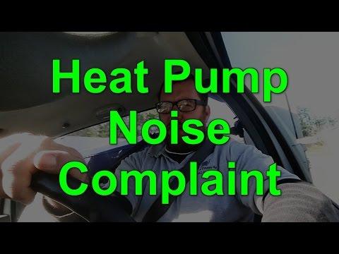 HVAC Heat Pump Noise Complaint