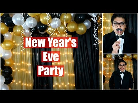 New Year's Eve: DIY Party Easy & Cheap!