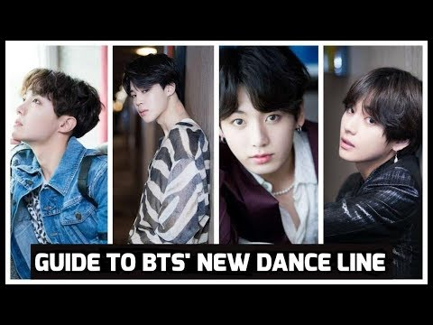 Guide To BTS NEW DANCE LINE