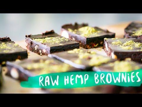 How To Make Raw Choc Brownies with Hemp protein! | Bondi Harvest