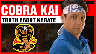 Cobra Kai and the Truth About Karate | ART OF ONE DOJO