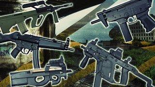 TOP 7 Submachine Guns (Best SMG)