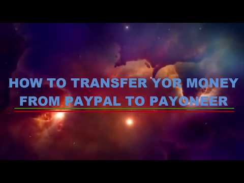 How to Transfer Your Money from Paypal to Payoneer || Local Bank||