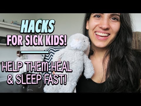TOP TIPS AND HACKS FOR SICK KIDS | SAHM OF 3 | MOM HACKS