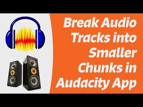 Break Audio Tracks into Smaller Sound Bites with Audacity